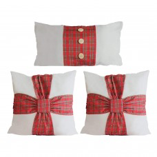 "Luxury Holiday Themed Cushion/Throw Pillow Covers (Square 18"" x 18"") 