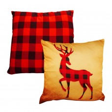 "Luxury Holiday Themed Satin Cushion/Throw Pillow Covers (Square 18"" x 18"") 