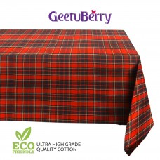 Cotton Buffalo Plaid Tablecloth